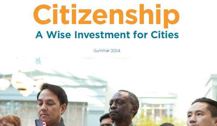 Citizenship: A Wise Investment for Cities