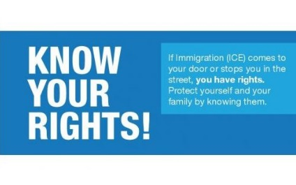 Important Know Your Rights Information