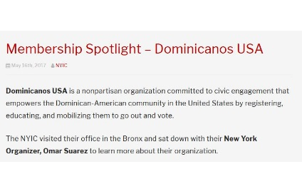 Membership Spotlight – Dominicanos USA