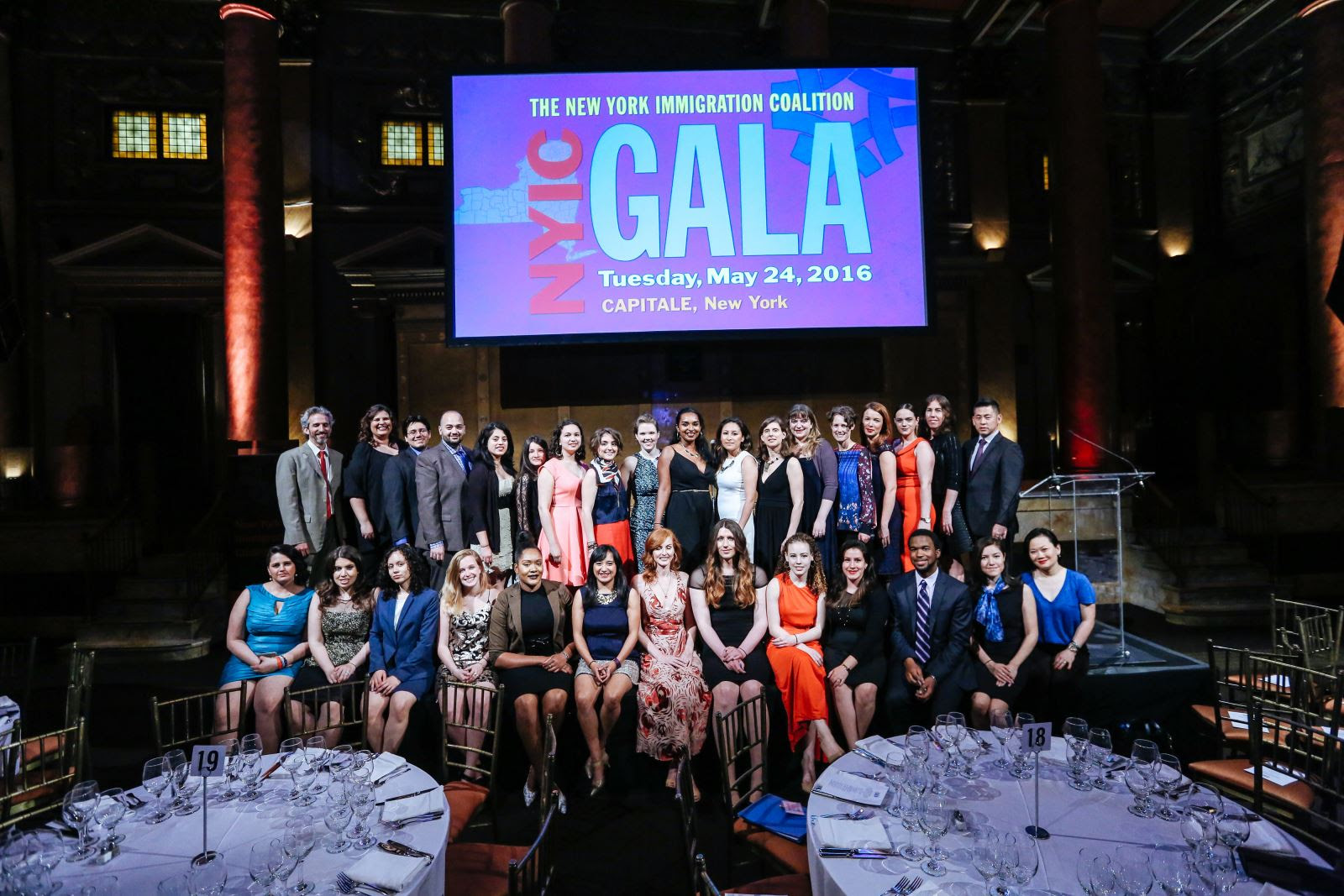 Thanks for the Glorious Night – NYIC 2016 Gala a Success Because of You!