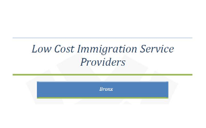 Low Cost Immigration Service Providers